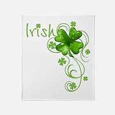 Irish Keepsake Throw Blanket