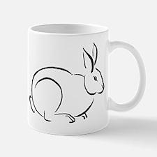 Cute Chinese rabbits art Mug