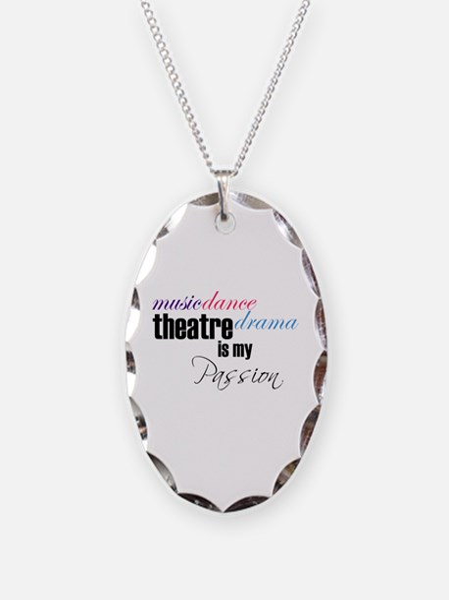 Cute Theatre Necklace