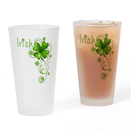 Irish Keepsake Drinking Glass