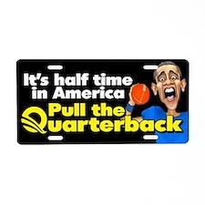 Halftime in America Aluminum License Plate