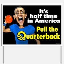 Halftime in America Yard Sign