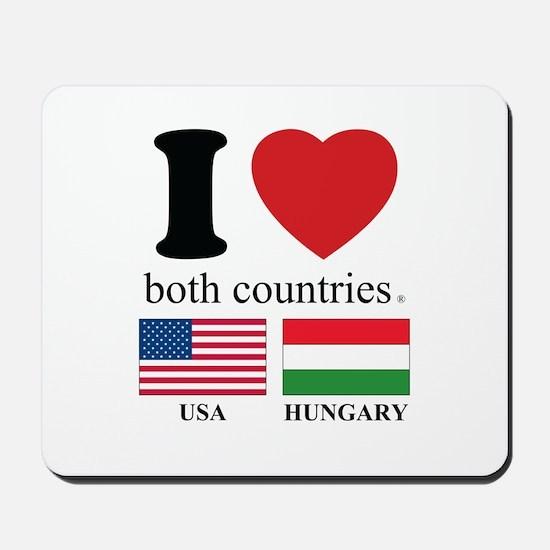USA-HUNGARY Mousepad