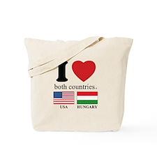 USA-HUNGARY Tote Bag