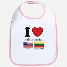 USA-LITHUANIA Bib