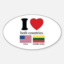 USA-LITHUANIA Decal