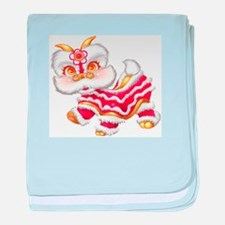 Chinese New Year Baby Dragon baby blanket