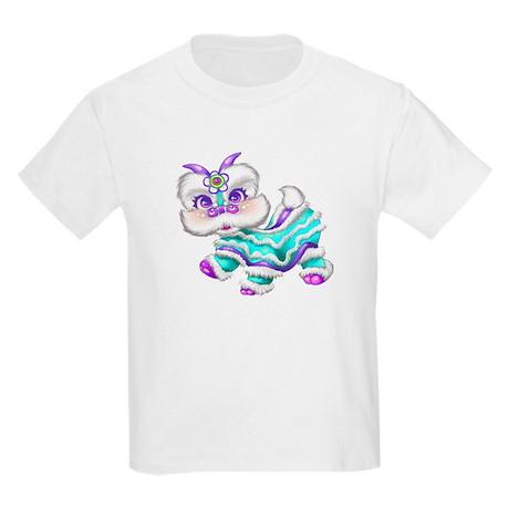 Chinese New Year Baby Dragon Kids Light T-Shirt