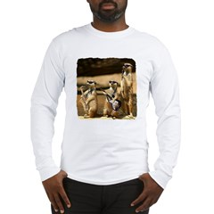 Meerkat Trio Long Sleeve T-Shirt