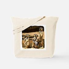 Meerkat Trio Tote Bag