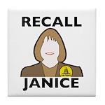 Custom Tile Coaster: Recall Janice