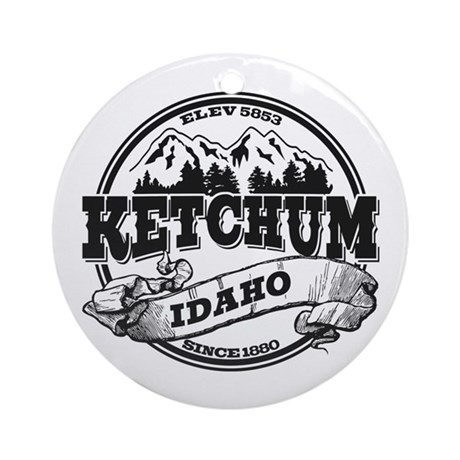 Ketchum Old Circle Ornament (Round)