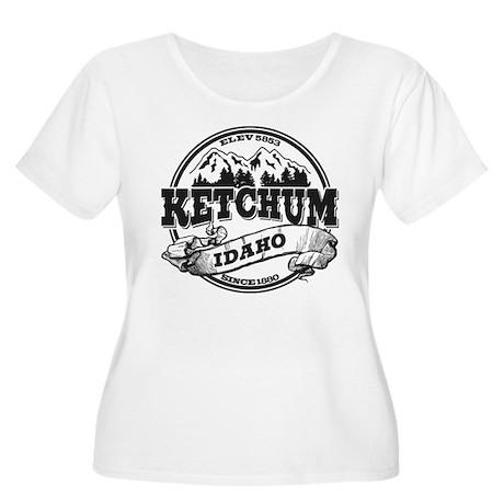Ketchum Old Circle Women's Plus Size Scoop Neck T-