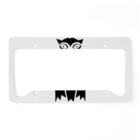 Owl License Plate Holder