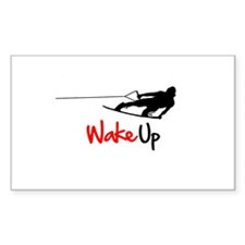 Wake Up Boarder Decal