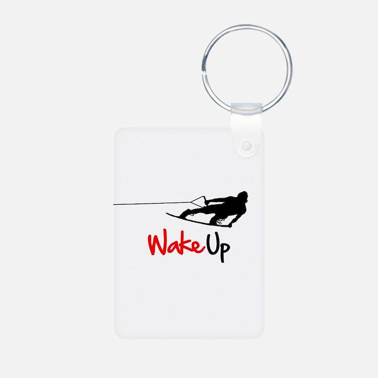 Wake Up Boarder Keychains
