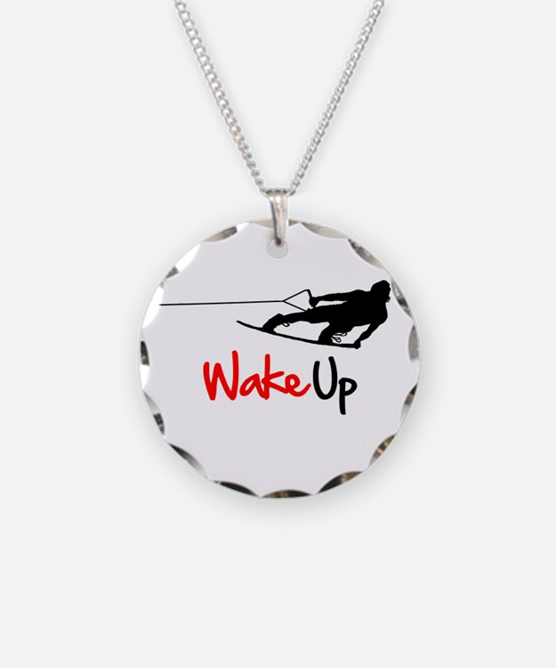 Wake Up Boarder Necklace