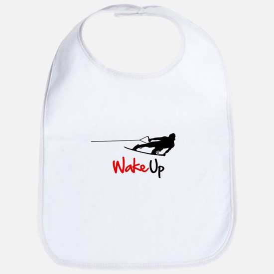 Wake Up Boarder Bib