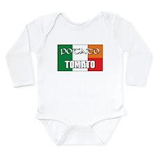Potato Tomato Irish-Italian Long Sleeve Infant Bod
