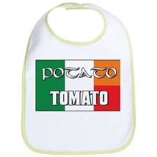 Potato Tomato Irish-Italian Bib
