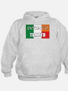 Potato Tomato Irish-Italian Hoodie