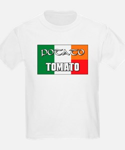 Potato Tomato Irish-Italian T-Shirt