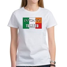 Potato Tomato Irish-Italian Tee