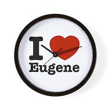 I love Eugene Wall Clock