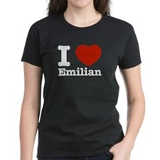 I love Emilian Tee