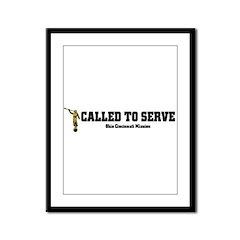 Ohio Cincinnati LDS Mission C Framed Panel Print