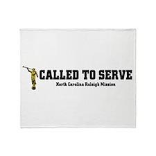 North Carolina Raleigh LDS Mi Throw Blanket