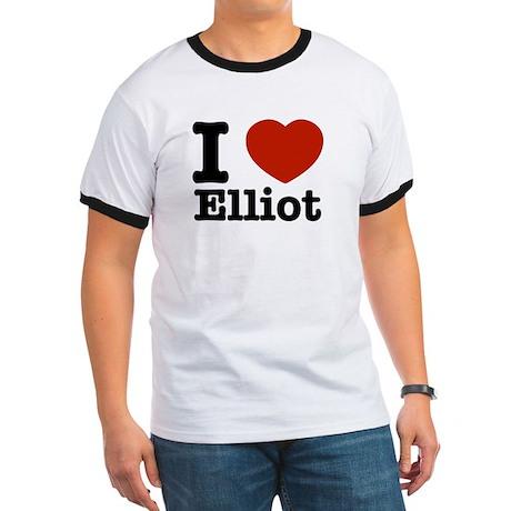 I love Elliot Ringer T
