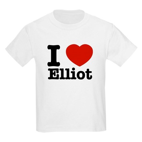 I love Elliot Kids Light T-Shirt