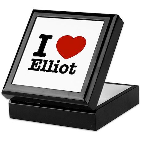 I love Elliot Keepsake Box