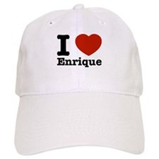 I love Enrique Baseball Cap