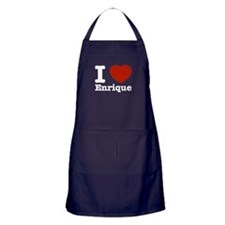 I love Enrique Apron (dark)