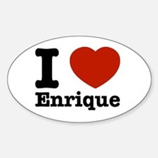 I love Enrique Decal