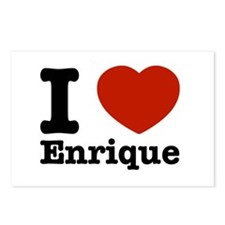 I love Enrique Postcards (Package of 8)