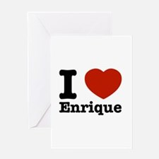 I love Enrique Greeting Card
