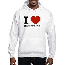 I love Esmeralda Jumper Hoody
