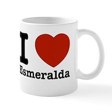 I love Esmeralda Small Mug