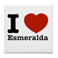 I love Esmeralda Tile Coaster