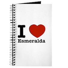I love Esmeralda Journal