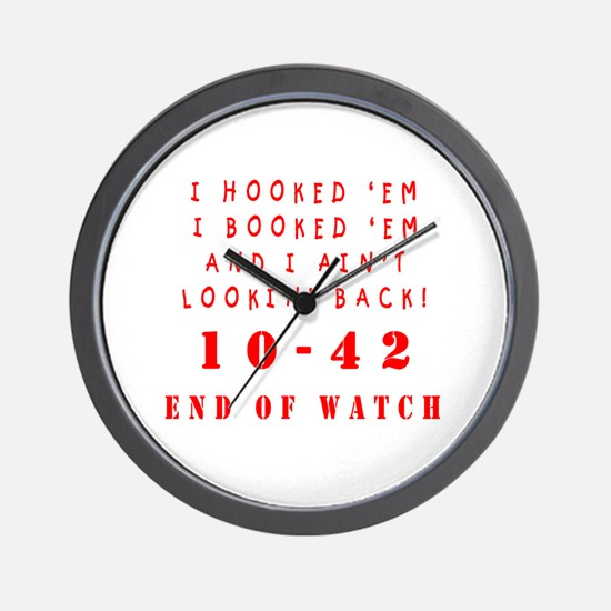 Cute Police officer Wall Clock