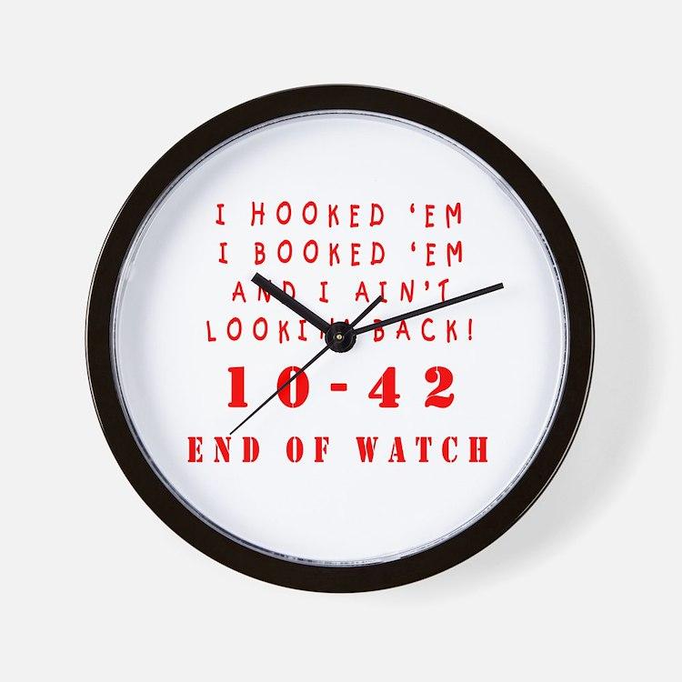 Cute Law enforcement Wall Clock