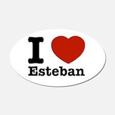 I love Esteban 22x14 Oval Wall Peel
