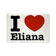 I love Eliana Rectangle Magnet