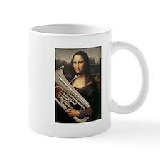 "euphonium Mona Lisa, da Vinci ""Musee du Louvre"" Mu"