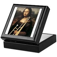"trombone Mona Lisa, da Vinci ""Musee du Louvre"" Kee"