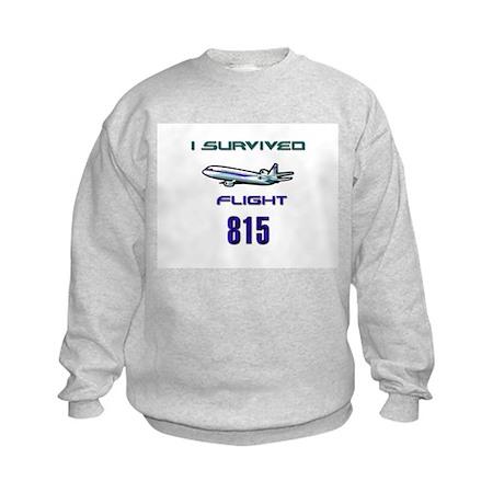 FLIGHT 815 Kids Sweatshirt